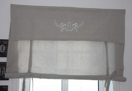 Liftgardin-Monogram-100 cm